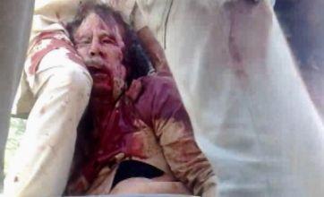 Video of Muammar Gaddafi's last moments alive revealed