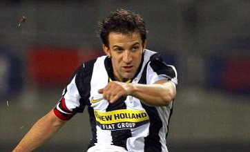 Del Piero linked with Fulham and QPR as Juventus say he can leave