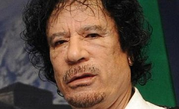 Gaddafi: 'I want to be buried next to my family and relatives'