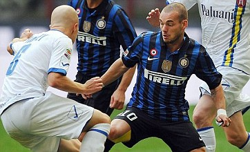 Wesley Sneijder: I never wanted to join Manchester United
