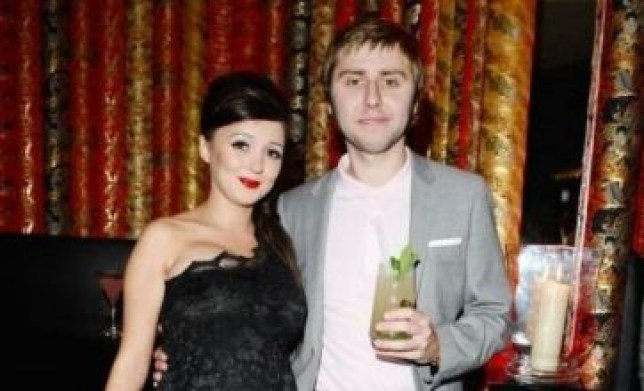 James Buckley said he was off to see Alpha Papa with wife Clair Meek (Picture: PA)