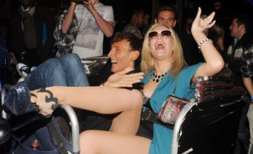 Kitty Brucknell parties in Soho in crazy outfit: Caption competition