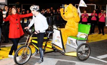Matt Baker's rickshaw challenge raises £1.2m for Children in Need
