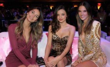 Miranda Kerr glams up for Victoria's Secret fashion show viewing party
