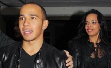 Lewis Hamilton bounces back with Nicole Scherzinger lookalike