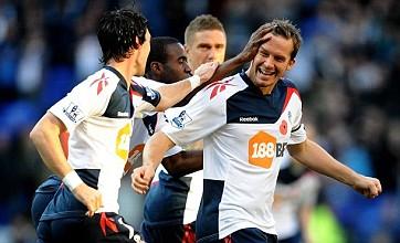 Owen Coyle's prayers answered as Bolton hammer Stoke 5-0