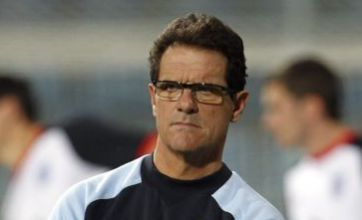 Fabio Capello's son to make wedding toast to his dad at Wembley