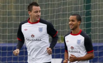 England players united behind John Terry despite racism row