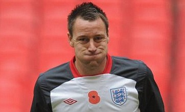 John Terry ditched for Spain friendly but will return as captain vs Sweden