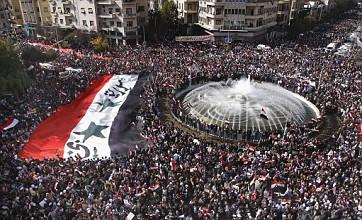 Bashar Assad urging summit with Arab leaders