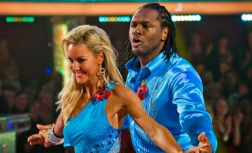 Audley Harrison gets knocked out of Strictly Come Dancing