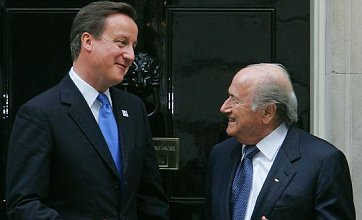 Rio Ferdinand gets PM's backing over 'appalling' Sepp Blatter racism row