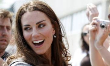 Kate Middleton is six weeks pregnant, claims US magazine