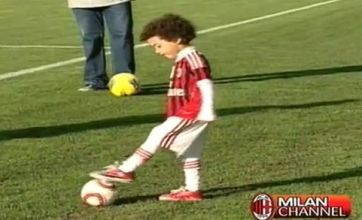 Robinho Jr outshines dad by going stepover crazy at AC Milan training