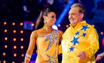 Human cannonball Russell Grant fired from Strictly Come Dancing