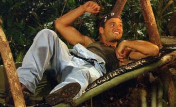 Mark Wright asks Emily Scott back to his hammock in I'm A Celebrity
