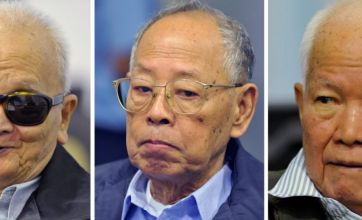 Killing fields' leaders in the dock accused of crimes against humanity