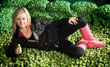 Teenage sprout tester's provocative poses put wind up consumers