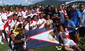 American Samoa win first game ever in World Cup qualification vs Tonga