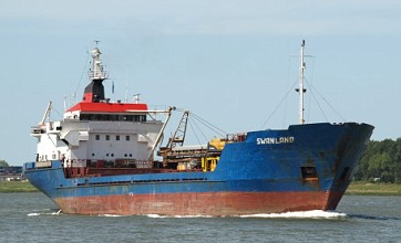 Prince William co-pilots rescue as one crewman dies in cargo ship sinking