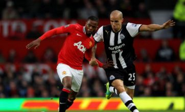 Patrice Evra: Manchester United must put Newcastle frustration behind them