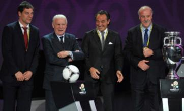 Giovanni Trapattoni 'confident' after Ireland's Euro 2012 draw