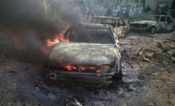 Church blasts kill worshippers in Nigeria