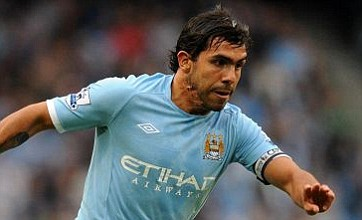 Carlos Tevez given green light for AC Milan talks by Manchester City
