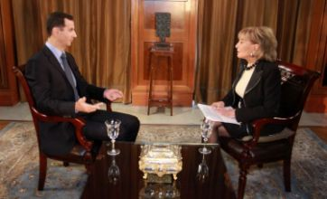 Syrian president Bashar Assad: I would be crazy to kill my own people