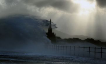 'Weather bomb' hits Britain as 130mph winds batter Scotland
