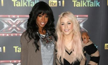 Kelly Rowland 'doesn't want Amelia Lily to win X Factor'