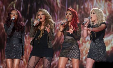 Celebrities back Little Mix on Twitter ahead of X Factor final