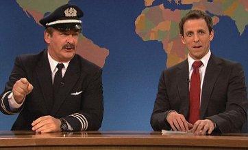 Alec Baldwin mocks airline industry in pilot skit on Saturday Night Live