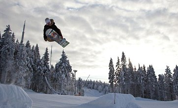 Oslo is the best place to rub shoulders with the snowboarding elite