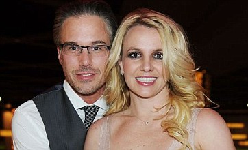 Britney Spears shows off engagement ring from Jason Trawick in Las Vegas