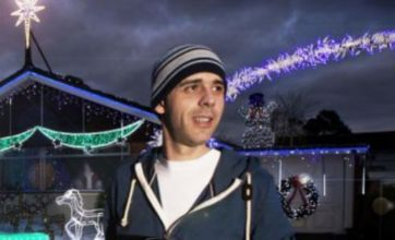 King of Christmas Lights revealed the British obsession with fairy lights