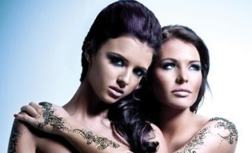 TOWIE girls Lucy, Jess and Sam adopt Asian fashion for photoshoot