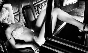 Rihanna's raunchy Armani adverts voted most sexy campaign of 2011