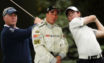 Rory McIlroy and Darren Clarke lead sport stars on New Year's Honours list