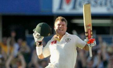 David Warner smashes fourth-fastest century ever as Australia slam India