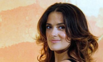 Hollywood's Salma Hayek to be made French knight