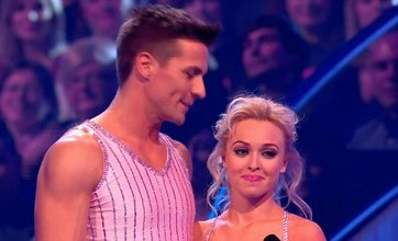 Jorgie Porter wows during Dancing on Ice launch