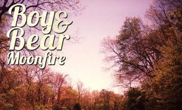 Boy & Bear's Moonfire compares to Mumford & Sons with their nu-folk mix