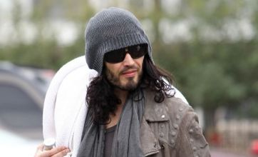 Russell Brand back in LA for divorce showdown with Katy Perry
