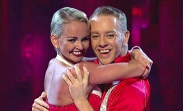 Jennifer Ellison: Jorgie Porter is my main competition on Dancing On Ice