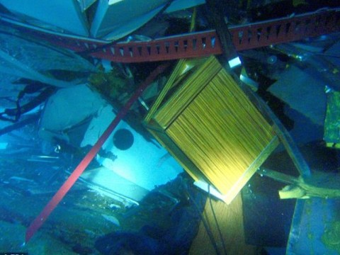 Pictures: Costa Concordia underwater rescue