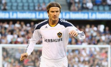 David Beckham signs new two-year LA Galaxy deal
