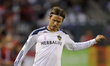 David Beckham's decision to stay at LA Galaxy is 'boost to Olympic hopes'