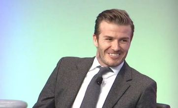 David Beckham: My LA Galaxy contract will pay for Harper's clothes