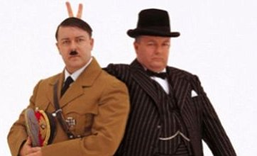 Ricky Gervais tweets photo of himself as Hitler after 'safe' Golden Globes act